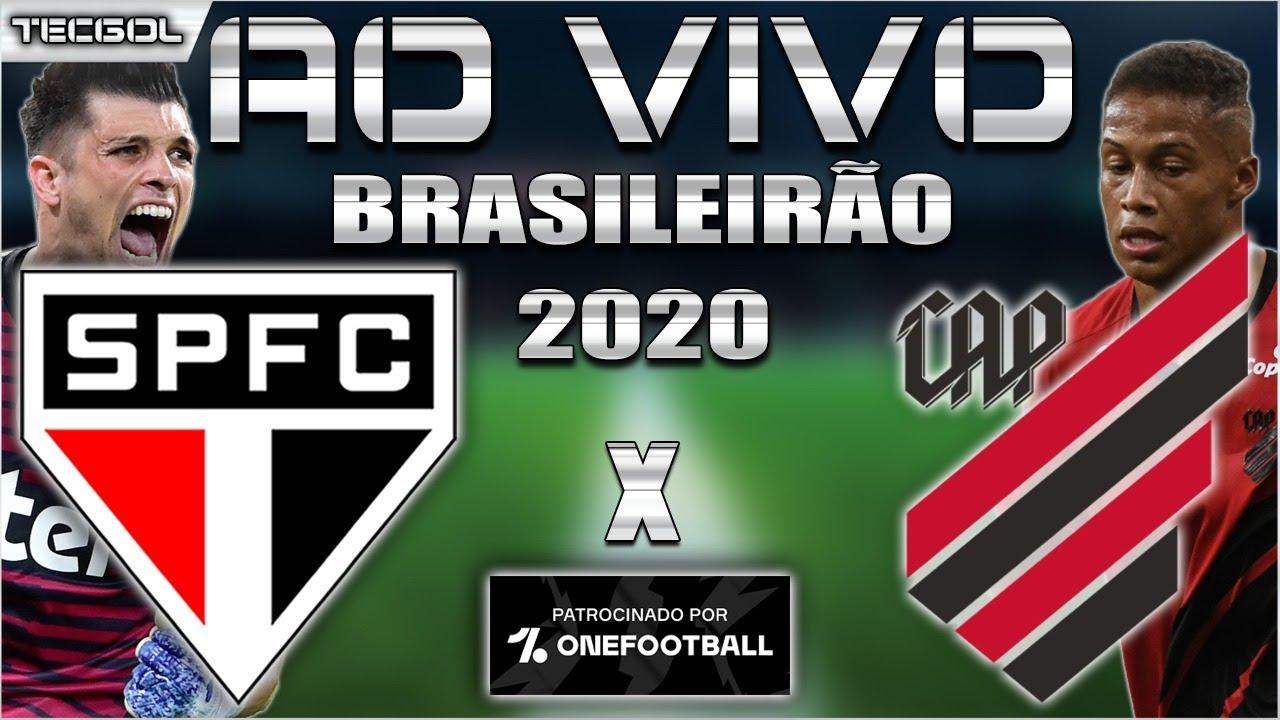 São Paulo x Athletico-PR Ao Vivo | Brasileirão 2020 | Jogo adiantado da 11ª Rodada | Narração