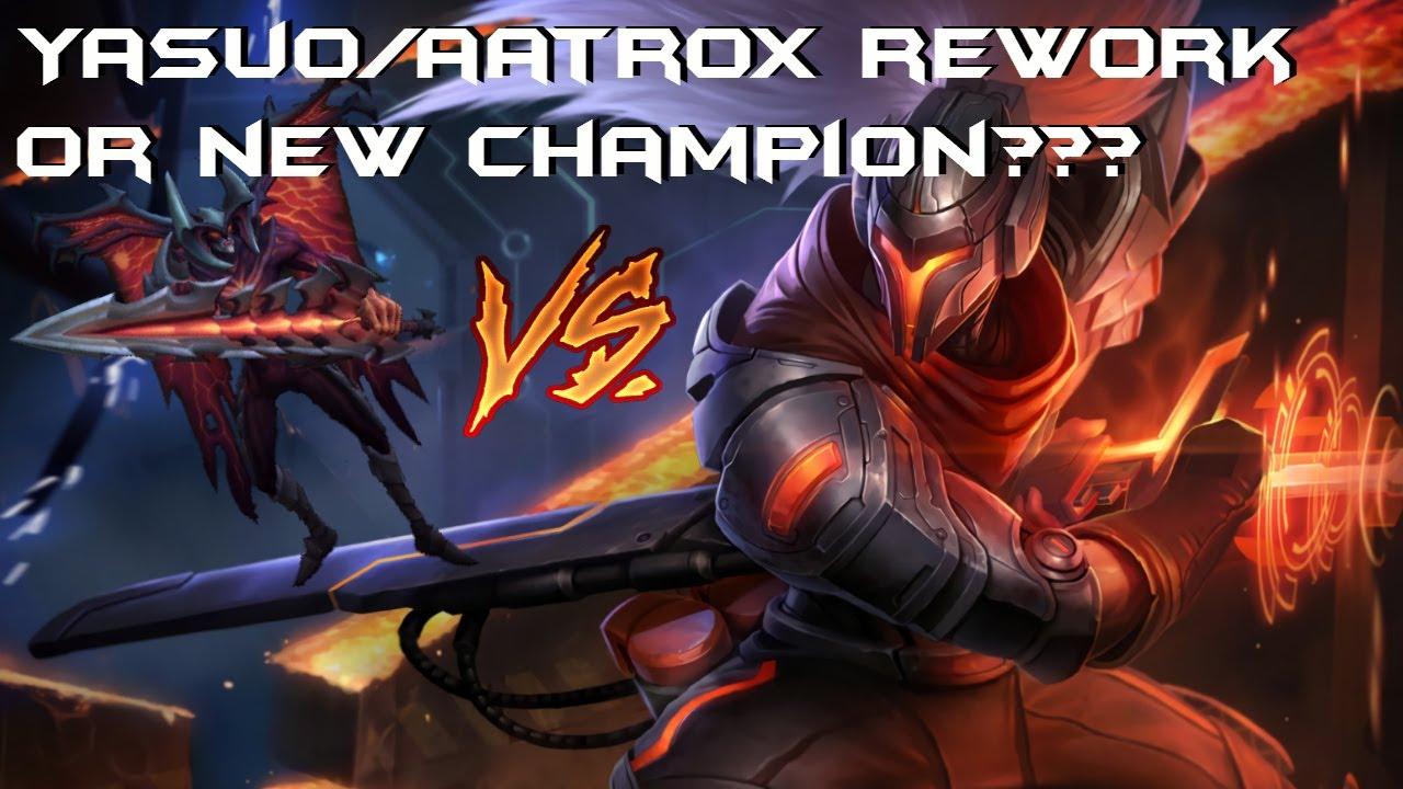 Aatrox Rework Abilities