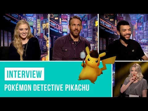 Why Movies Are Important | Pokémon Detective Pikachu Cast Interview