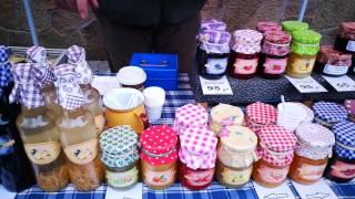 ЧЕХИЯ Весенний рынок в Карловых Варах