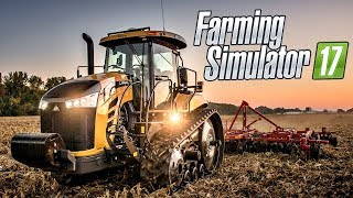 Farming Simulator 17 Обзор И Прохождение карты Mustang valley ranch HD )