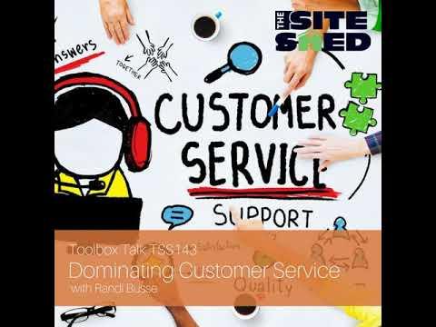 TSS143_Dominating Customer Service