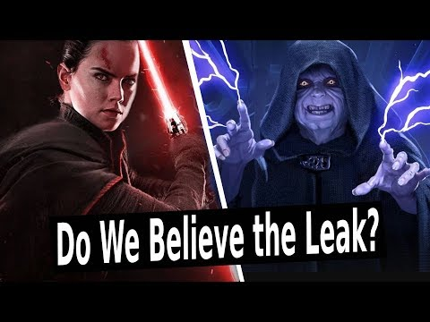 NEW Star Wars Episode 9 Leak Breakdown: Rey Palpatine? Jedi Leia?
