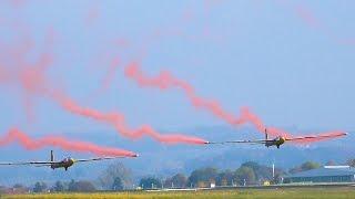 2x gigantic red bull swift s1 rc sailplane faszination modellbau friedrichshafen 2016