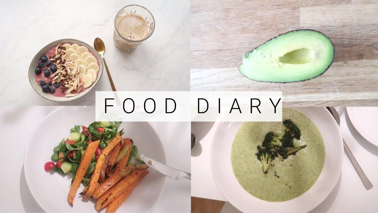 ABNEHMEN FOOD DIARY - SUPER SCHNELLE REZEPTE FÜR DIE DIÄT |WHAT I EAT IN A DAY #1