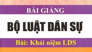 Luật dân sự  Bài giảng khái niệm Luật dân sự Việt Nam