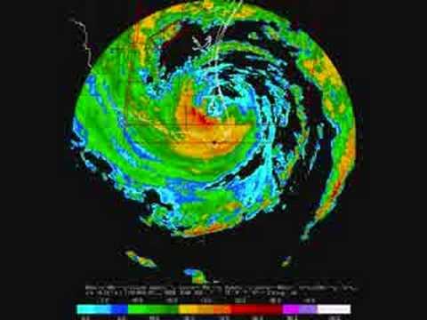 Hurricane Dolly makes landfall - Radar View