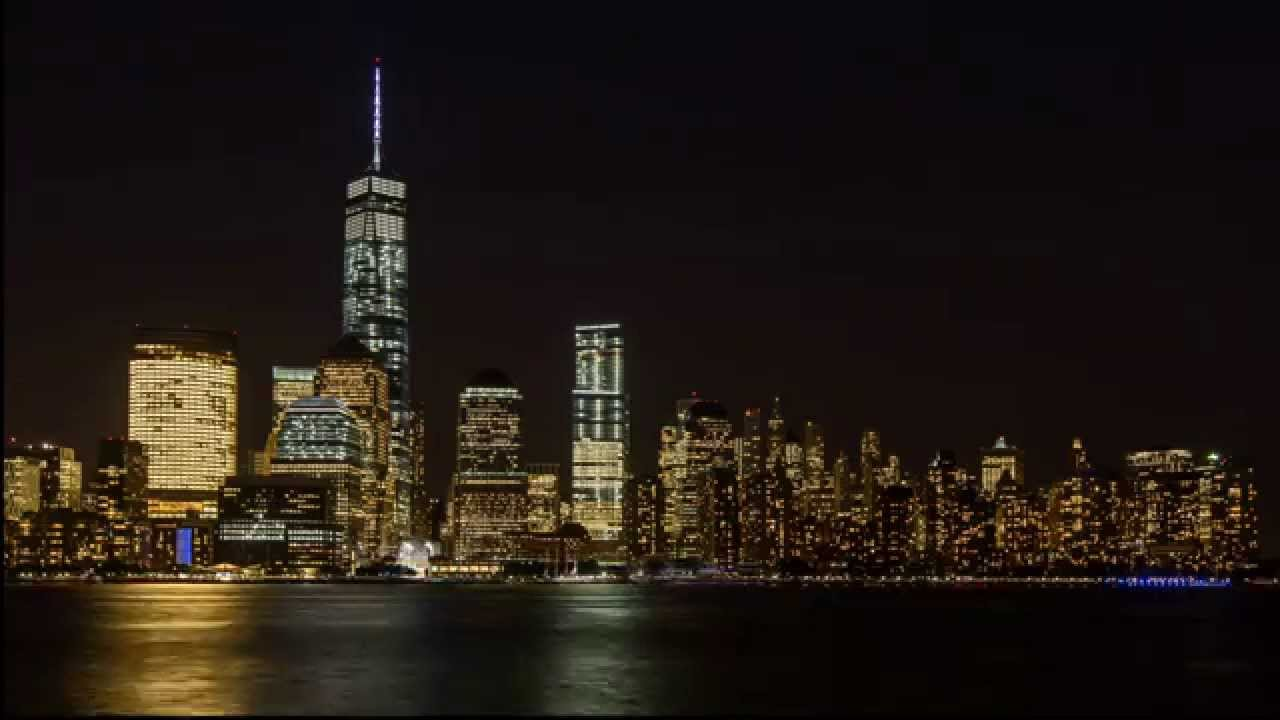 Stunning New York City skyline timelapse