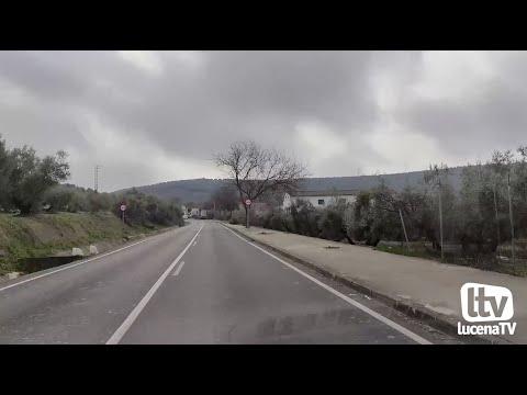VÍDEO: La Diputación redacta el proyecto para dotar de acerado a la mayor parte de la carretera del Santuario