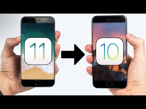 DOWNGRADE iOS 11 to iOS 10 - WITHOUT Losing Your Data!