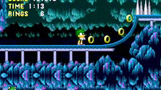 Sonic Zeta Overdrive - Vizzed.com GamePlay (rom hack) - User video