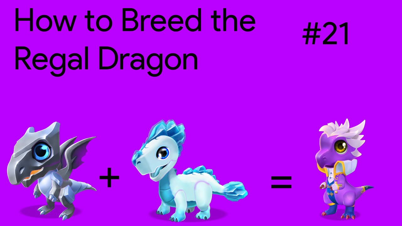 How To Breed The Regal Dragon Dml Breeding Guide 21 Youtube