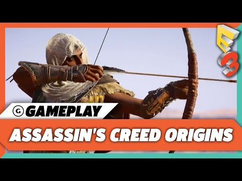Assassin's Creed Origins Gameplay Premiere on Xbox One X  | Microsoft Press Conference