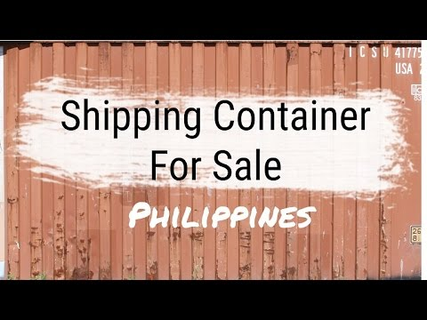 3 x 20ft shipping containers available in Pasig City, Philippines this week