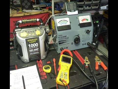 Portable Car Battery Jump Starter Review / Tests - Part 1
