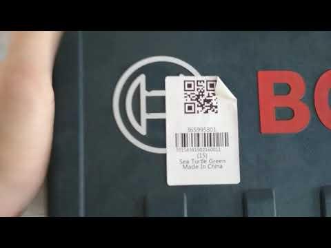 б.у. или подделка BOSCH с Gearbest / Used Or Fake Bosch From Gearbest.com In The Original Bosch Case