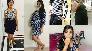 My Unexpected Weight Gain During Pregnancy/Before & After Picture/First Pregnancy/Indian