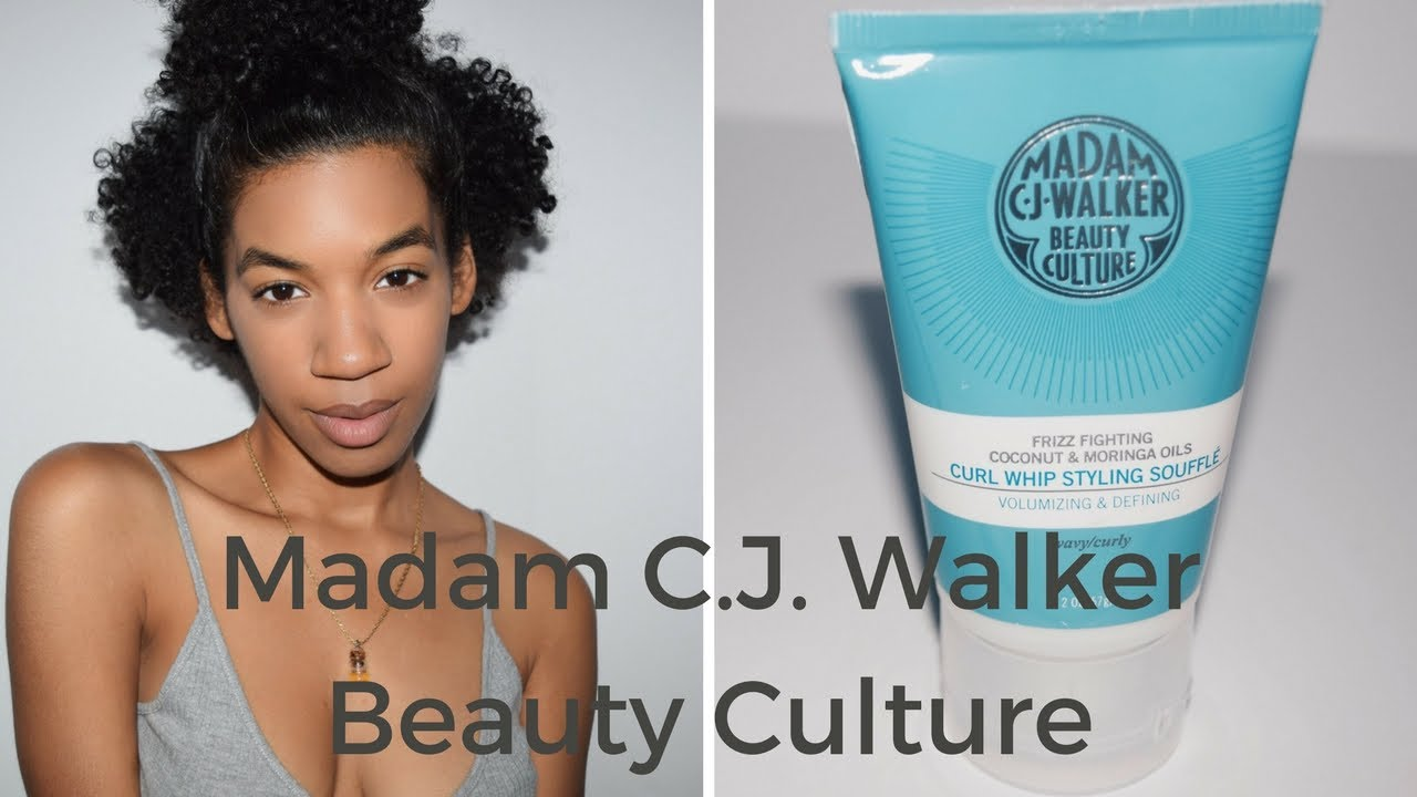 Worth The Money Madam C J Walker Beauty Culture Curl Whip Styling Souffle Youtube
