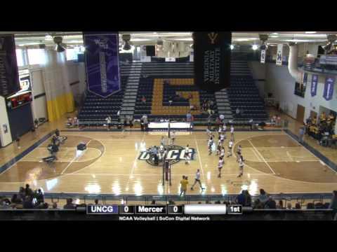 UNCG Volleyball vs. Mercer
