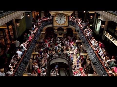 QVB Flashmob Sydney