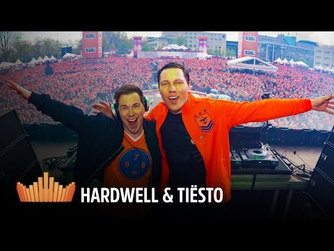 538Koningsdag 2016: interview Hardwell & Tiësto (with CC)