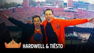 Interview Hardwell & Tiësto (with CC) | 538Koningsdag 2016