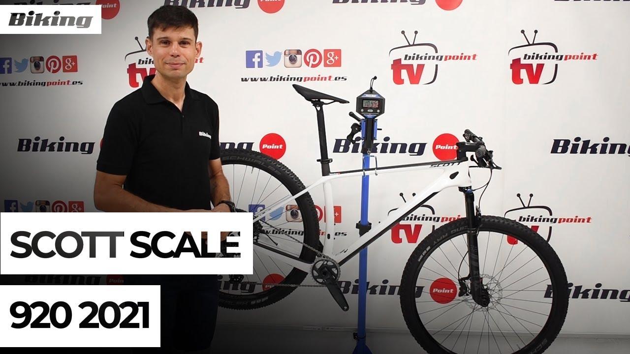 Bicicleta Scott Scale 920 2021 | Presentación