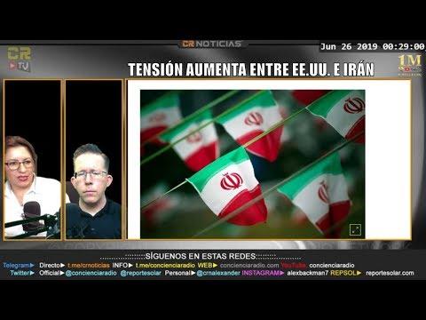 TERREMOTO M6.7 SACUDE PANAMÁ Y COSTA RICA - TENSIONES AUMENTAN ENTRE IRÁN Y EE.UU. - CR NOTCIAS