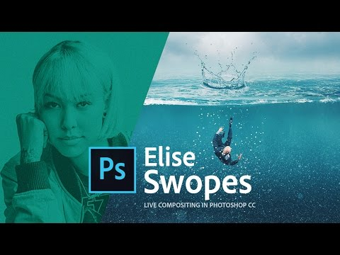 How to edit pictures with Photoshop MIX on your smartphone - Live with Elise Swopes