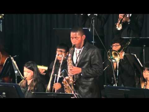 Hamilton Ensemble B - Aztec Jazz Competition & Clinic