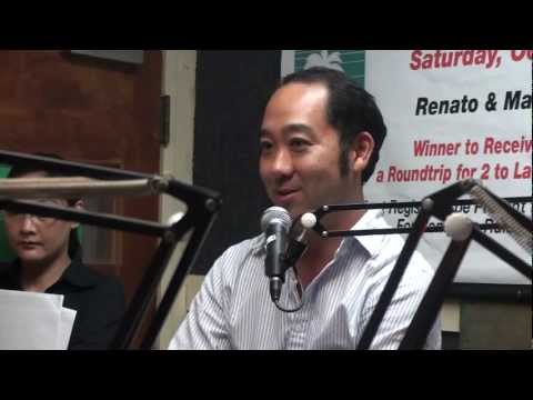 Immigration Attorney Gordon Yang speaks about Kyani Super Foods at KNDI radio station