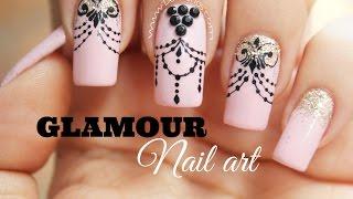 Decoración de uñas Glamour - Glamour Nail art