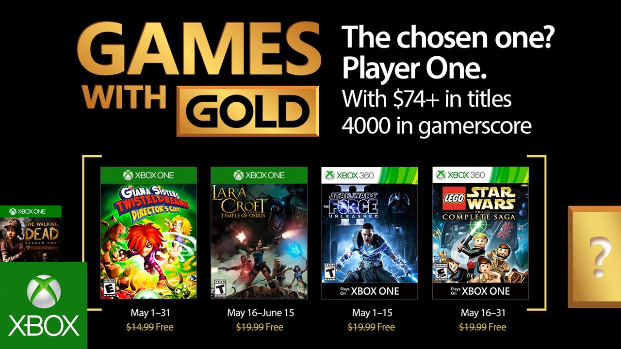 Free Games For Ps Plus Xbox Live In May 2017