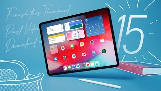 iPadOS 15 Review: Dropped Expectations!