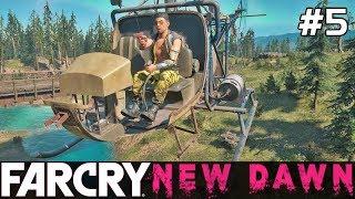 FAR CRY New Dawn Gameplay PL [#5] ZBUDOWAŁEM HELIKOPTER /z Skie