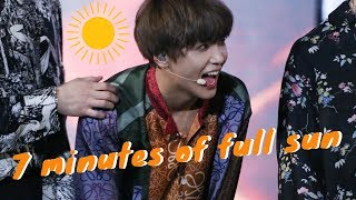 🌞7 minutes of our full sun