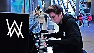 ALAN WALKER - FADED PUBLIC PIANO PERFORMANCE