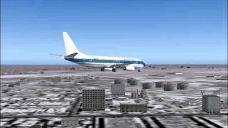 FS2004 - ILS Approach and Landing in Chicago O