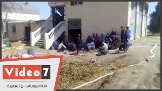 إحتراق محوتيات 8 منازل بقرية فى كفر الشيخ