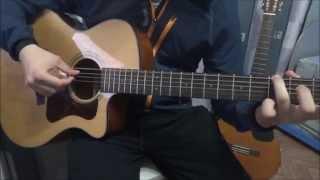 Би-2 - Молитва. Аранжировка для гитары.