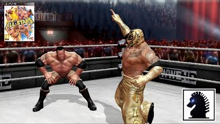 PS3 WWE All-Stars  - The Rock (Shiryu) vs Rey Mysterio (F81)