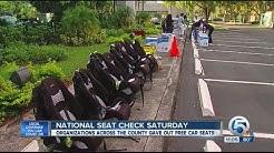 National Seat Check Saturday distributed free car seats