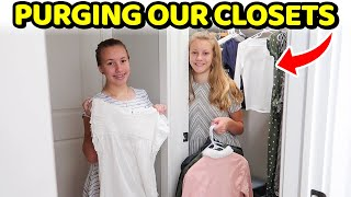 Closet Clean-Out Back to School