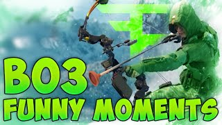 BO3 FUNNY MOMENTS! - Kinetic Armor Ninja Defuse & Sparrow Trickshot