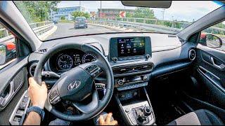 2021 Hyundai Kona [1.6 T-GDI 198HP] 0-100 | POV Test Drive #847 Joe Black