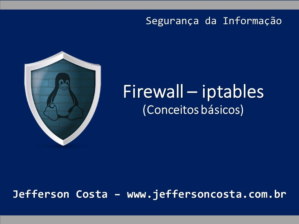 linux iptables how to add firewall rules