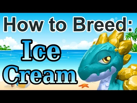How To Breed: Legendary ICE CREAM Dragon - Dragon Mania Legends (Dragon Of The Month)