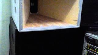 Caixa cornetada p/ medio grave-Parte 1