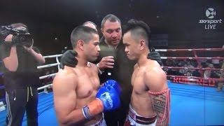 Kick Boxing Fight King in the Ring - Oct 31st 2015