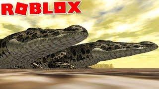 """Wild Savannah (Roblox)-Carnivores in Rio, aquatic predator """"Crocodile""""-(#12) (Gameplay EN-BR)"""